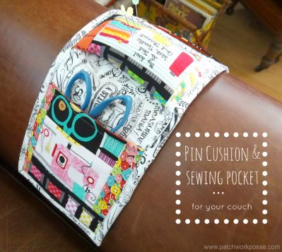 Amrchair sewing caddy with pockets free sewing pattern