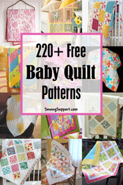 260 Free Baby Quilt Patterns Boy Girl Easy Advanced