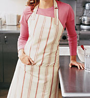 Chefs apron with pocket sewing pattern
