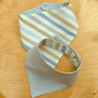 Bandana baby bib sewing pattern