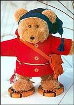 Free teddy bear sewing pattern