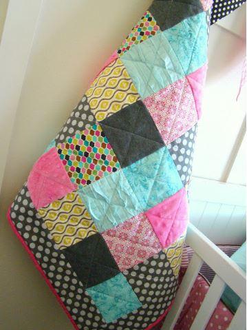 Easy beginner square quilt free pattern