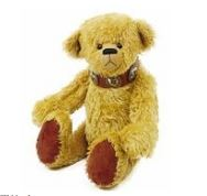 Jointed vintage design free teddy bear sewing pattern