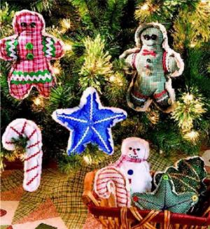 Free Christmas ornament sewing patterns