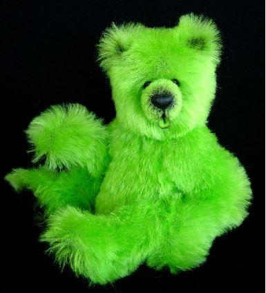 Modern teddy bear free sewing pattern