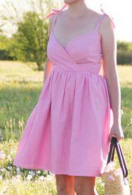 Women's sleeveless strap wrap sundress sewing pattern