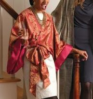 Womens wrap jacket sewing pattern