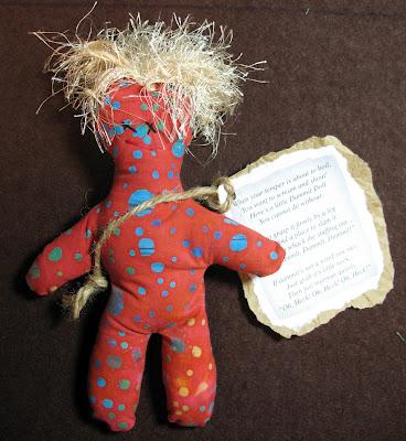 Fabric rag dammit doll free sewing pattern