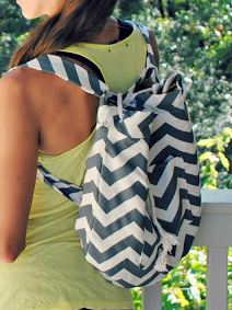 Do it yourself fabric backpack free sewing pattern