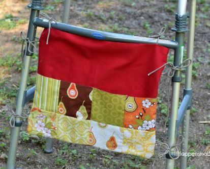 Walker bag with ties free sewing pattern