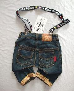 Dog denim jeans sewing pattern