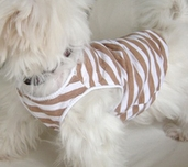 Dog knit t-shirt sewing pattern