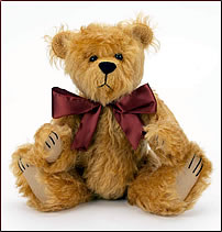Jointed vintage style jointed teddy bear free sewing pattern