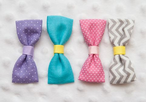 Easy fabric bows from scraps free sewing pattern