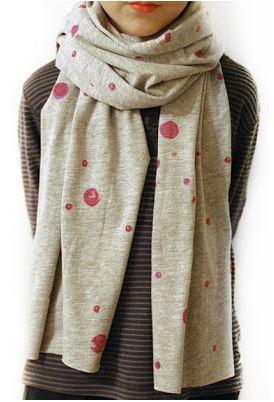 Easy womens scarf sewing tutorial