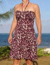 Easy sleeveless summer dress sewing pattern