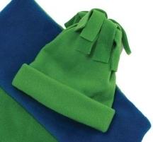Fleece hat sewing pattern