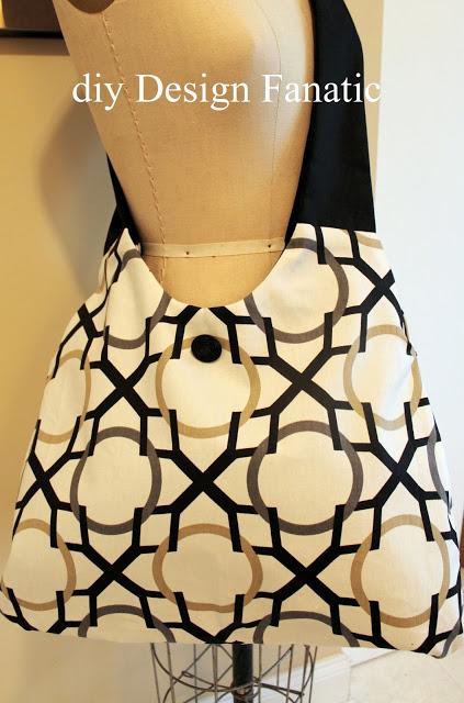Hobo bag free sewing pattern