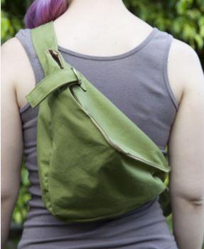 Cross body hobo bag backpack free sewing pattern
