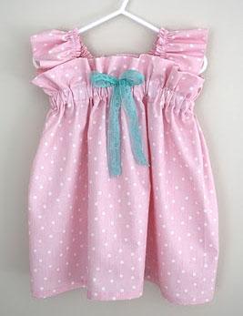 Sleeveless baby dress sewing tutorial