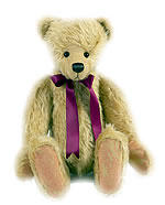 Free teddy bear pattern with jointed limbs