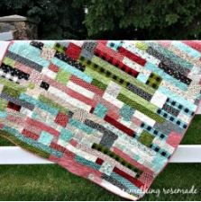 Strip quilt free pattern