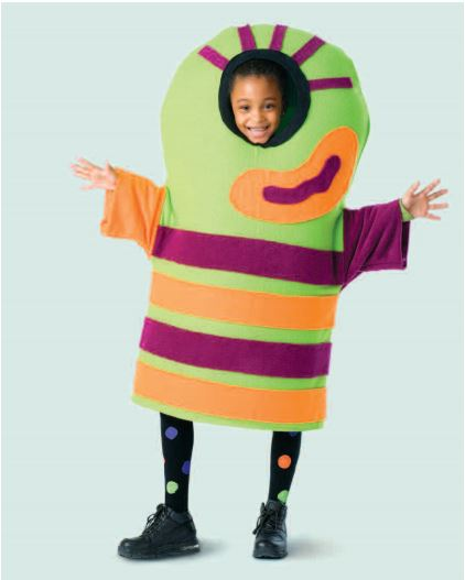 Monster Hallween costume sewing pattern