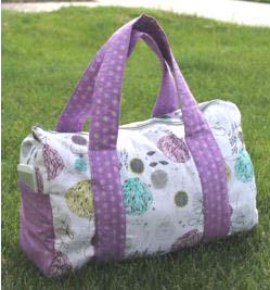 Duffle travel bag sewing pattern