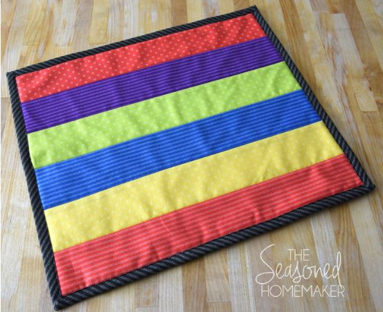 Easy quilt from strips free pattern