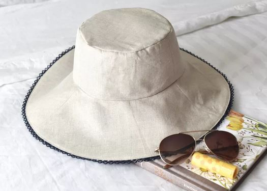 Reversible sun hat for summer free sewing pattern