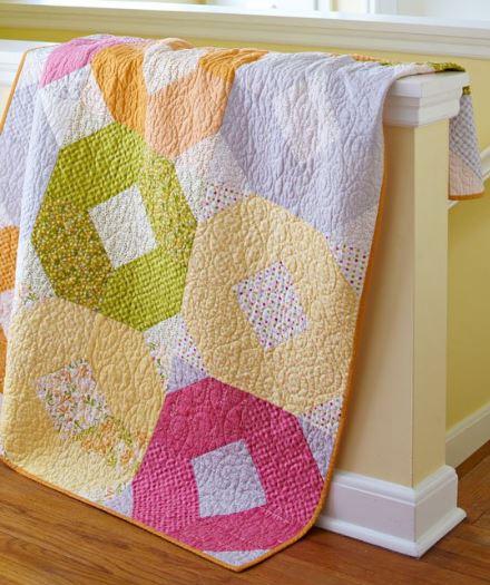 Fat quarter quilt free pattern