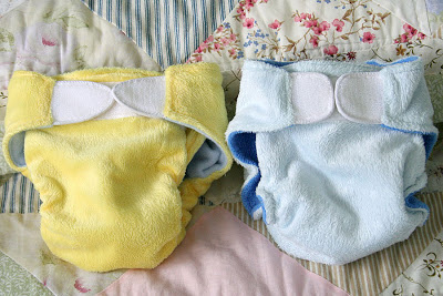 Cloth baby diaper sewing pattern