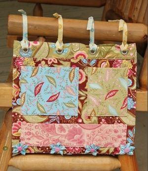 Organizer for rocking chair free sewing pattern