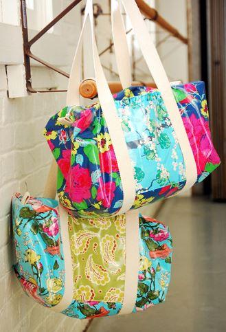 Duffle bag free sewing pattern