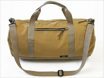 Safari style duffle bag free sewing pattern