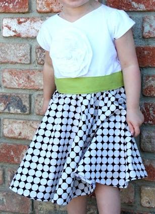 Girls dress free sewing pattern