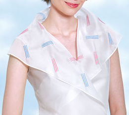 Womens blouse with shawl collar sewing pattern