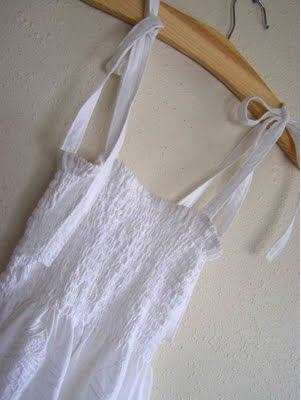 Womens casual shirt or top with straps and shirring sewing pattern