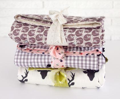 Easy baby blanket sewing pattern