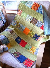 Baby boy quilt using charm packs free pattern