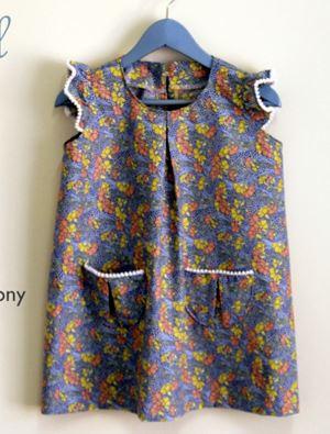 Girls tunic dress free sewing pattern