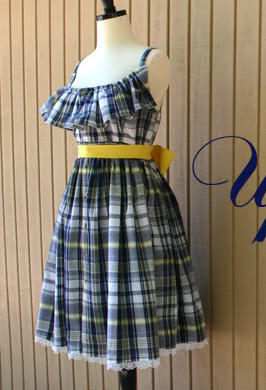 Womens sleeveless sundress with spaghetti straps and ruffle top sewing pattern