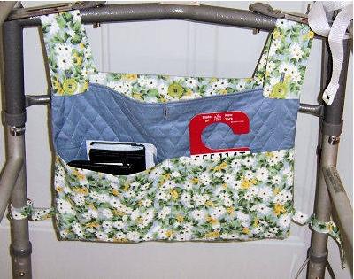 Walker bag free sewing pattern