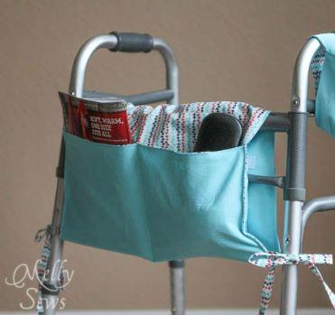 Walker caddy free sewing pattern