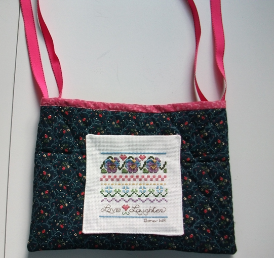 Wheelchair bag with ties free sewing pattern