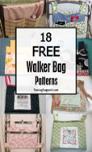 22 Free Walker Wheelchair Bag Patterns